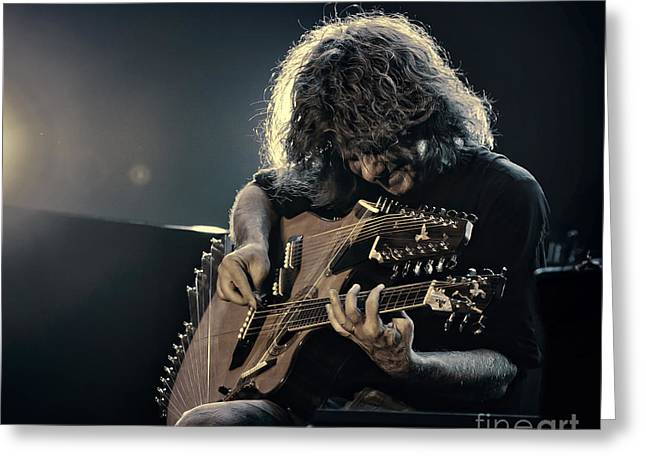 Pat Metheny Greeting Card