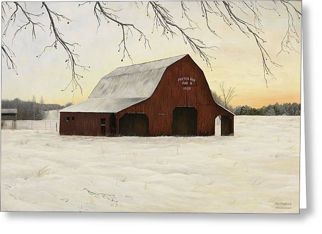 Patterson Barn Greeting Card by Mary Ann King