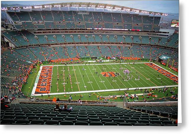 Paul Brown Stadium Greeting Card