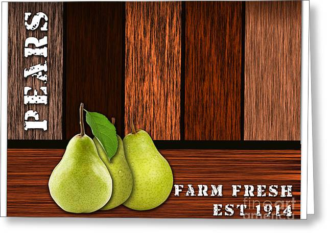 Pear Farm Greeting Card