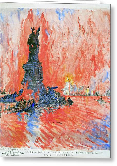 Pennell New York City Greeting Card