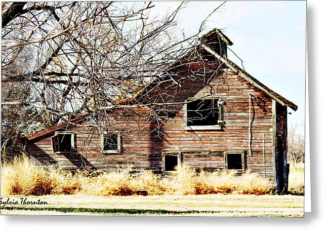 Greeting Card featuring the photograph Petite Barn by Sylvia Thornton