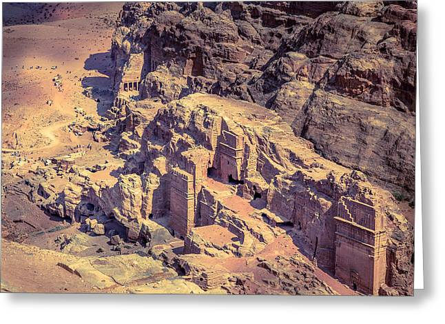 Petra Greeting Card by Alexey Stiop