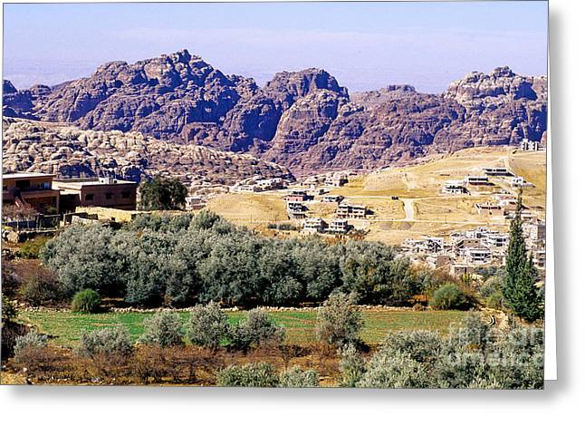 Petra, Jordan Greeting Card by Adam Sylvester