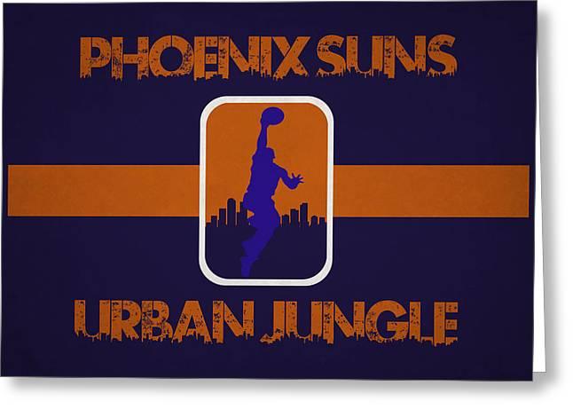 Phoenix Suns Greeting Card