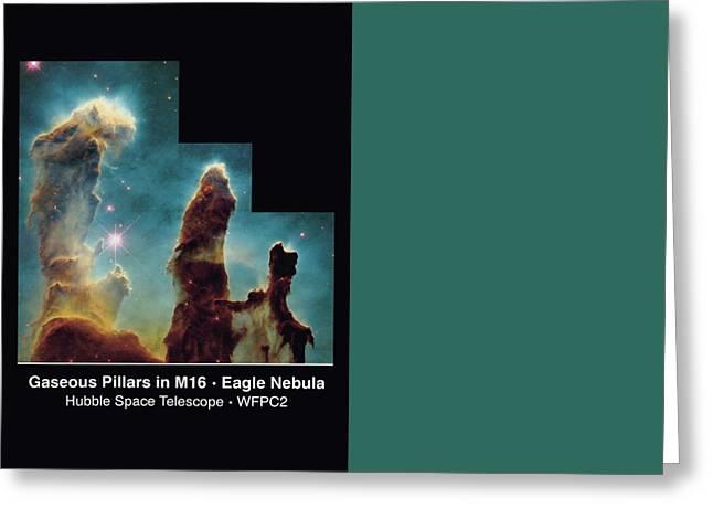 Pillars Of Creation Greeting Card