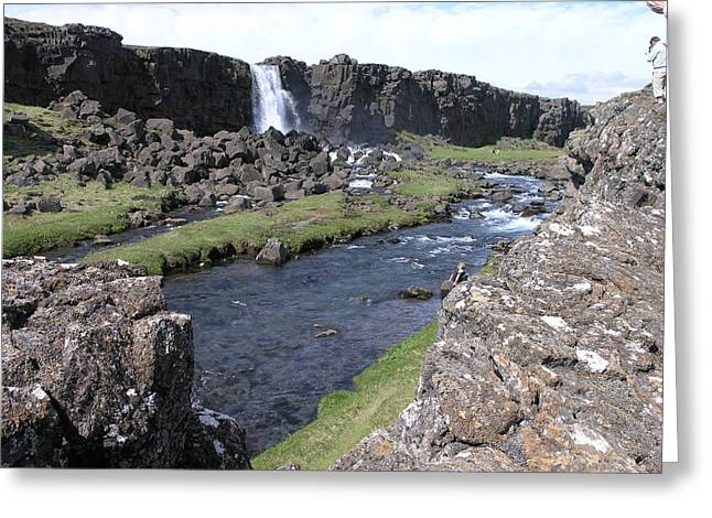 Pingvellir Greeting Card by Christian Zesewitz