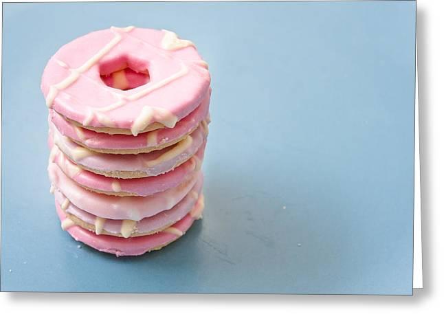 Pink Cookies Greeting Card