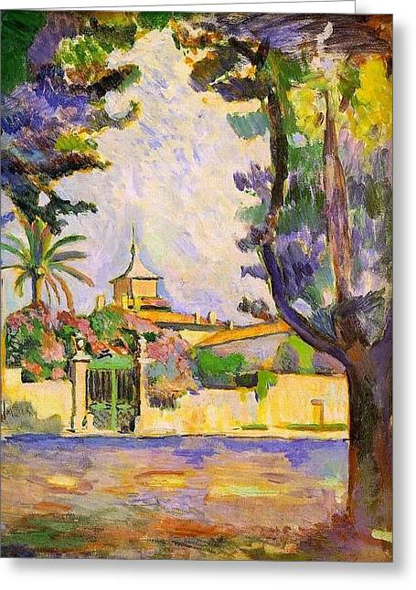 Place Des Lices St Tropez Greeting Card