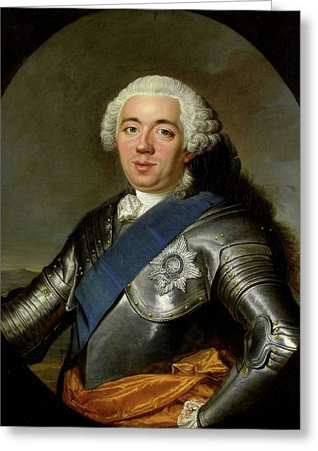 Portrait Of William Iv, Prince Of Orange Greeting Card by Litz Collection
