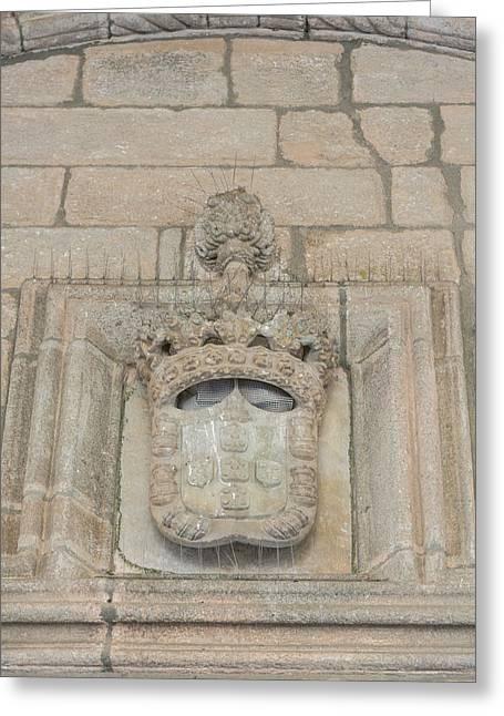 Portugal, Evora, St Greeting Card by Jim Engelbrecht