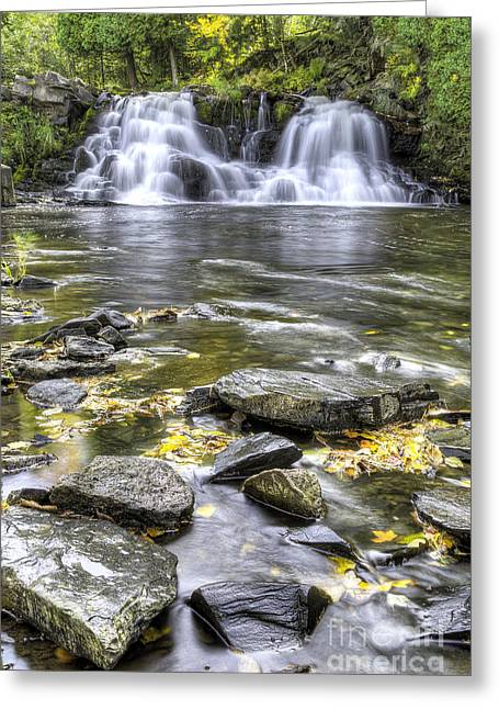 Powerhouse Falls Greeting Card by Twenty Two North Photography