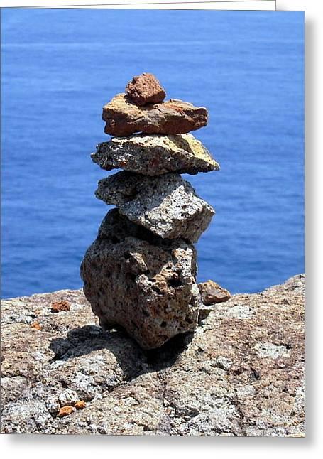 Prayer Stones Greeting Card