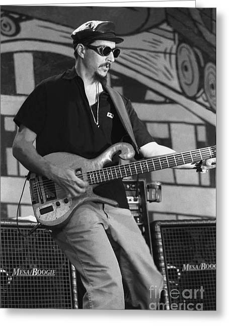 Primus - Les Claypool Greeting Card by Concert Photos
