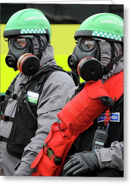 Radiation Emergency Response Workers Greeting Card