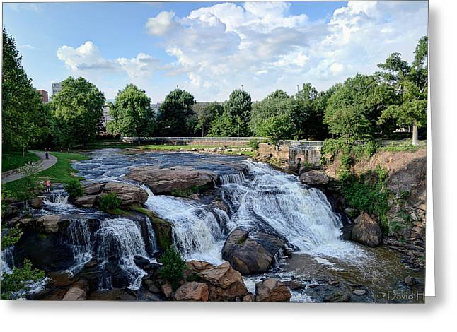 Reedy River Falls Greeting Card