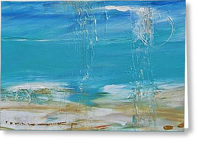 Reflections Greeting Card by Diana Bursztein