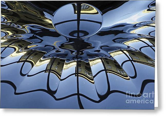Reflections Greeting Card by Inge Riis McDonald