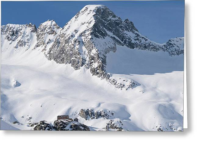 Reichenspitze Mountain Range Greeting Card