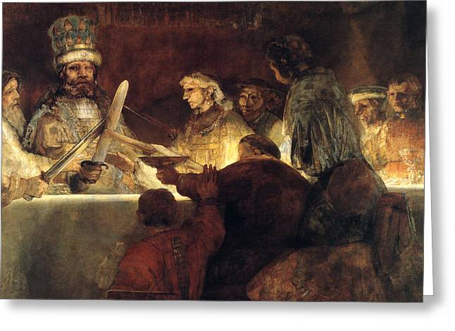 Rembrandt Greeting Card by Rembrandt