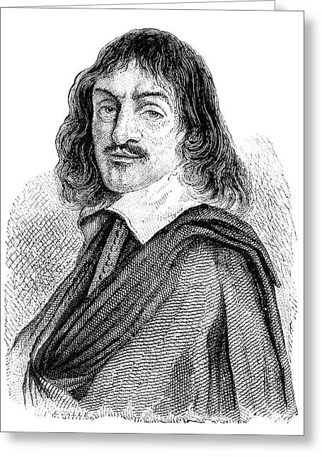 Rene Descartes Greeting Card by Science Photo Library