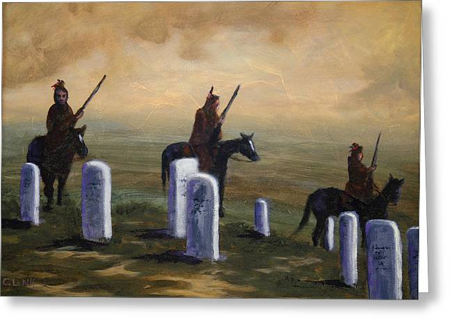 Return To Little Bighorn  Greeting Card