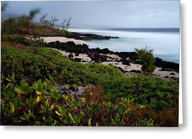 Reunion Island Greeting Card by Sergi Reboredo
