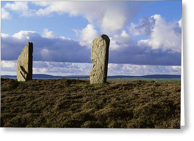 Ring Of Brodgar, Orkney Islands Greeting Card