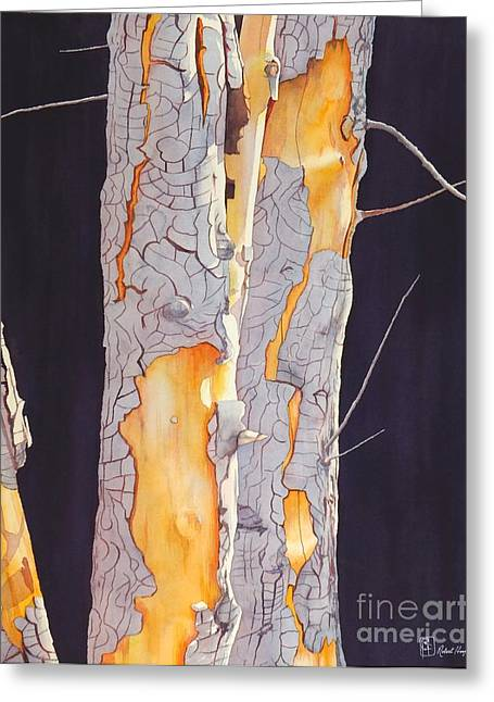 River Birch At Lynx Greeting Card