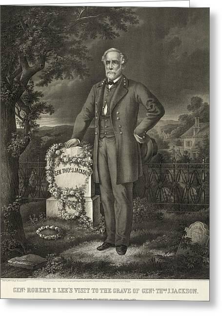 Robert E Greeting Card by Granger
