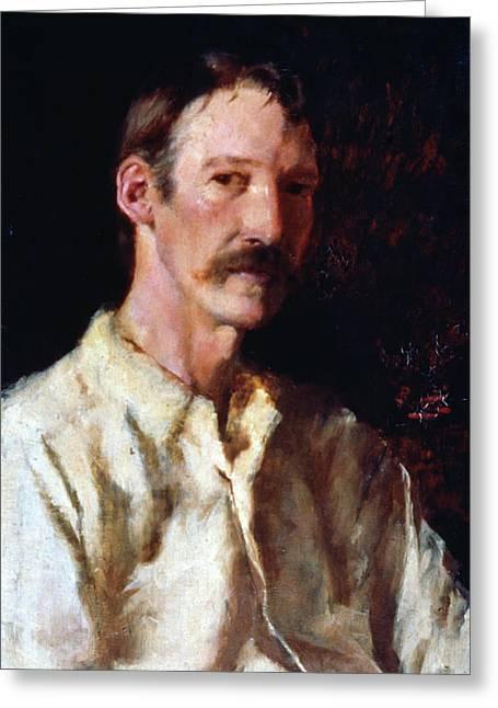 Robert Louis Stevenson (1850-1894) Greeting Card by Granger