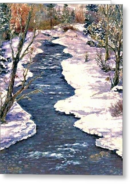 Rock Creek Winter Greeting Card