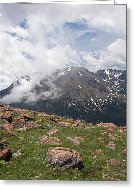 Rocky Mountain National Park Greeting Card by Jim West