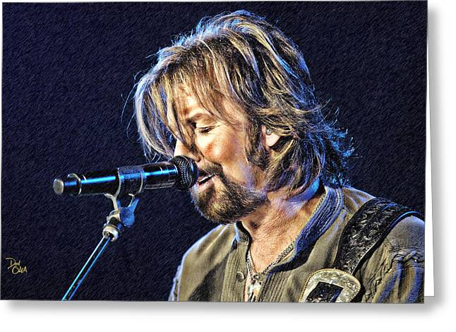 Ronnie Dunn Greeting Card by Don Olea