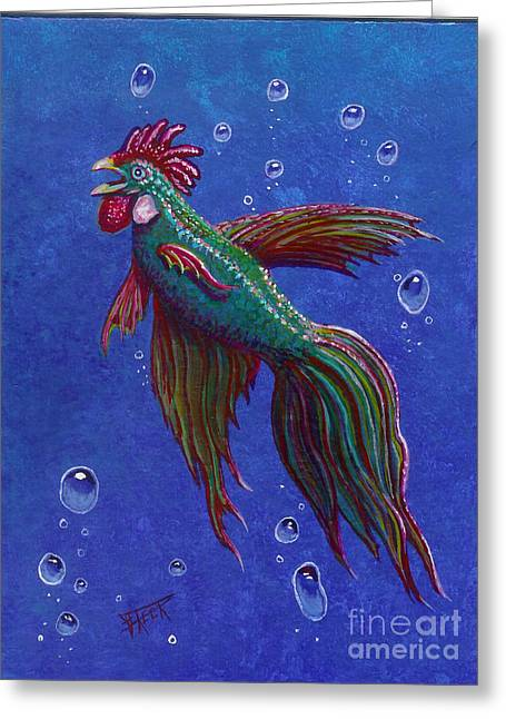 Roosterfish I Greeting Card by Fred-Christian Freer