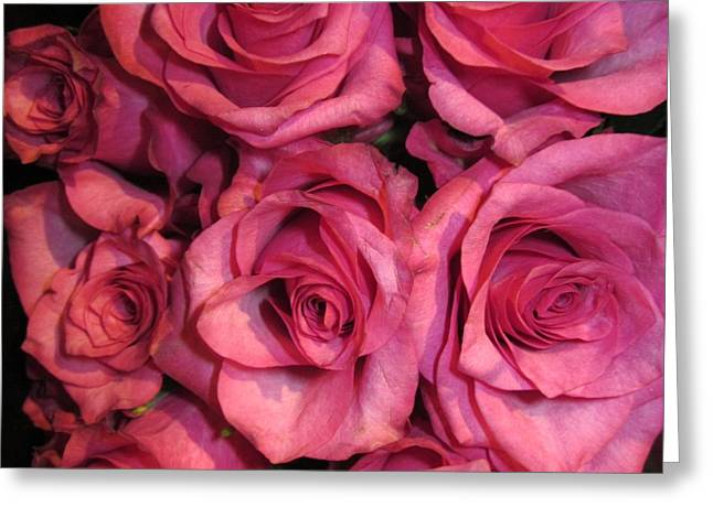 Rosebouquet In Pink Greeting Card