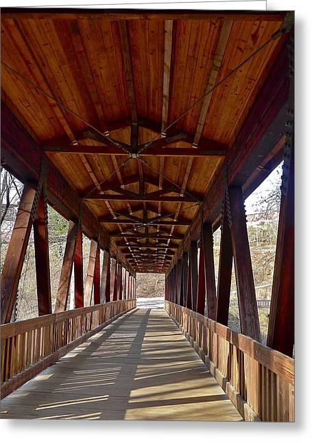 Roswell Bridge Greeting Card