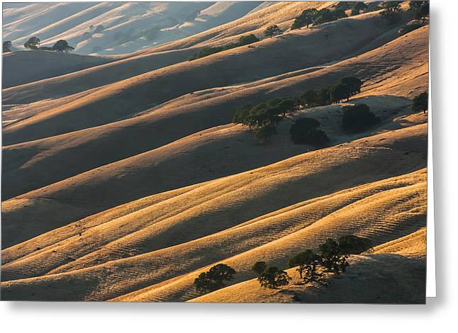 Round Valley Ridges Greeting Card