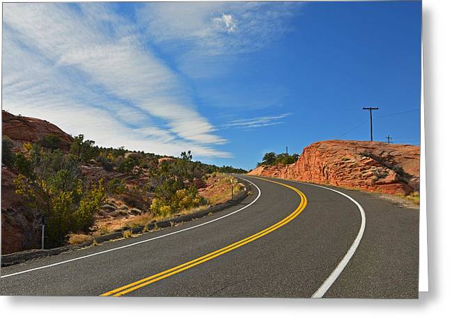 Route 12 - Utah Greeting Card