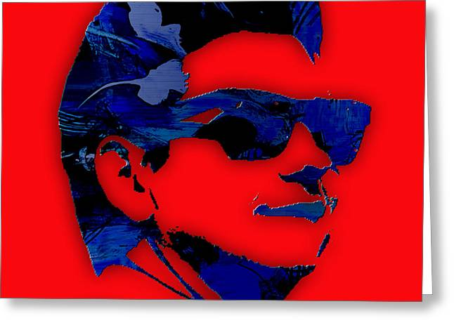 Roy Orbison Collection. Greeting Card
