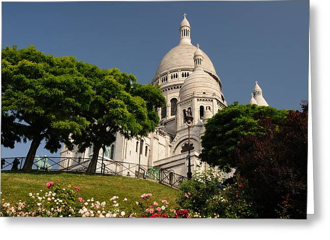 Sacre Coeur Greeting Card by Jeremy Voisey