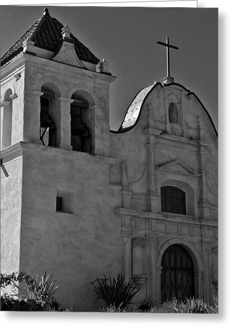 San Carlos Cathedral Greeting Card