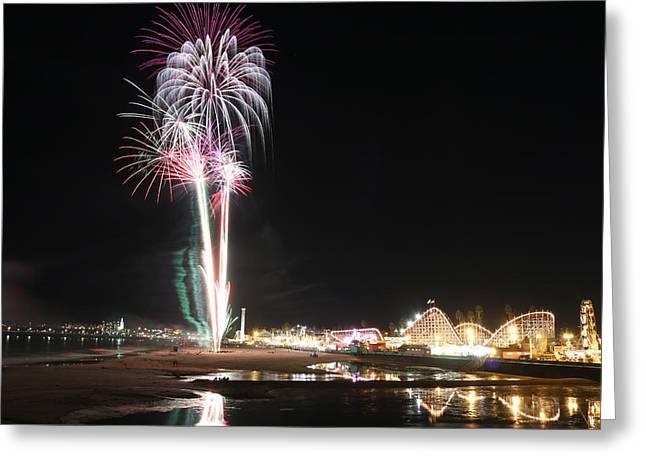 Santa Cruz Wharf 100 Year Anniversary Greeting Card