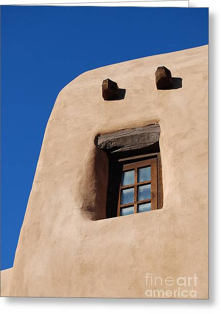 Greeting Card featuring the photograph Santa Fe Secrets by Gina Savage