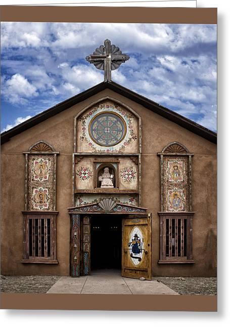 Santo Nino Chapel  Greeting Card