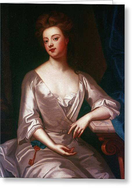 Sarah Churchill (1660-1744) Greeting Card