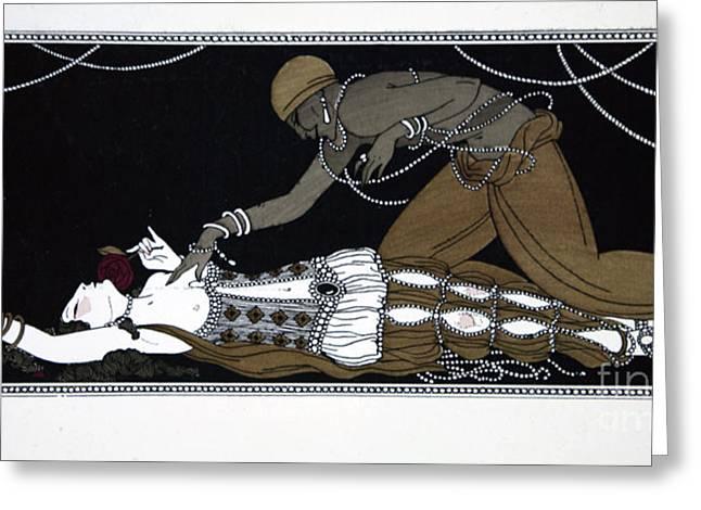 Scheherazade Greeting Card