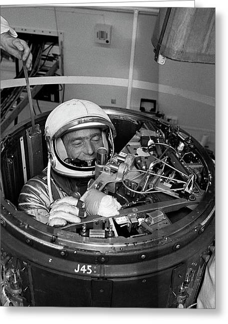 Scott Carpenter Greeting Card by Nasa