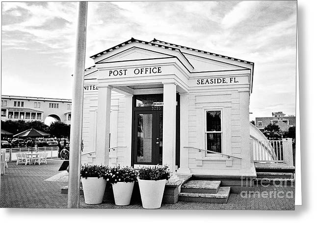 Seaside Post Office Greeting Card