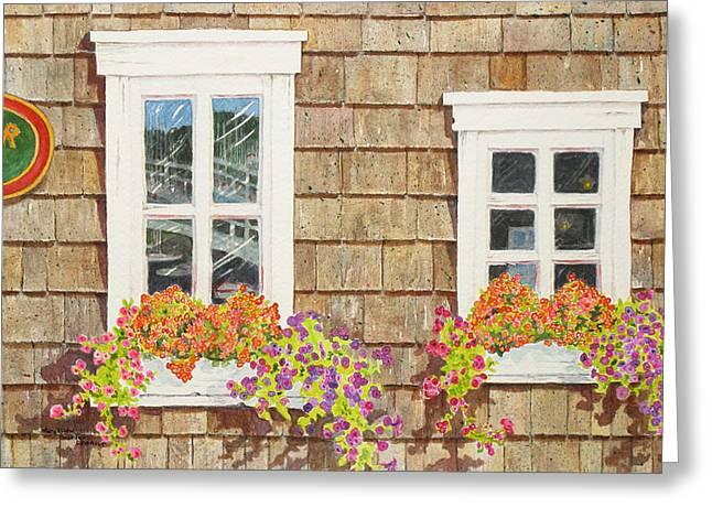 Seaside Vision Greeting Card by Mary Ellen Mueller Legault